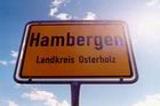 Ortsschild Hambergen