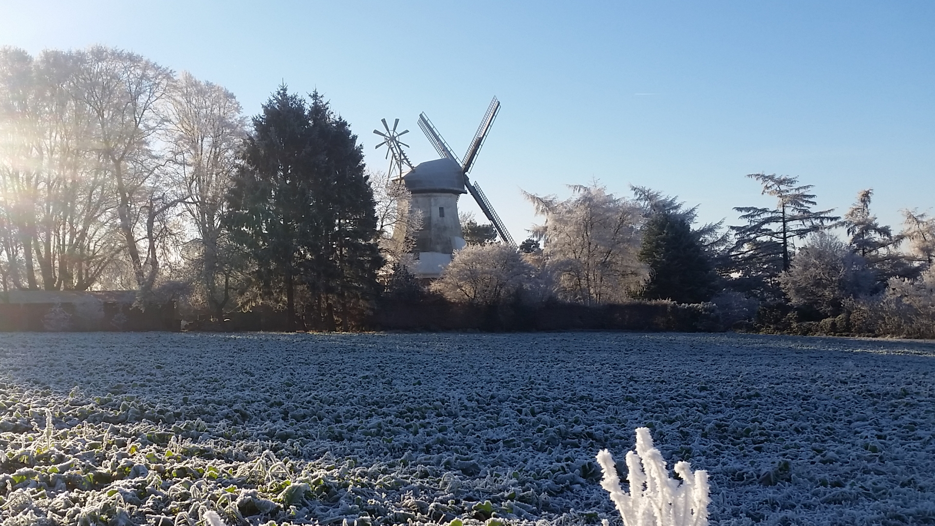 Mühle im Winter - Neu